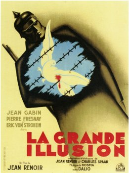 grand illusion film essay Ao scott looks back at jean renoir's world war i film about european unity and the dream of a world beyond simple categories related article: http://nyti.